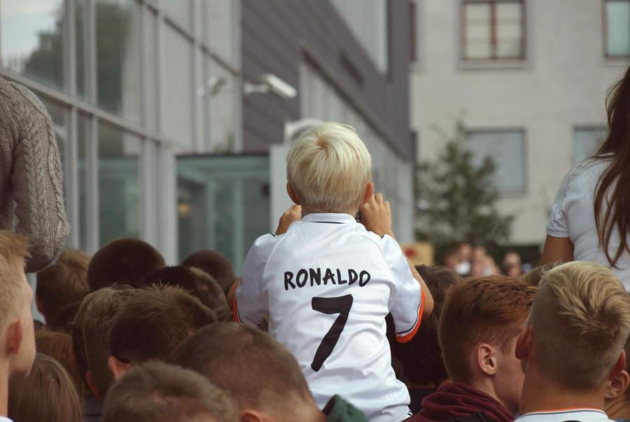 Hvordan kan Ronaldo inspirere de unge?