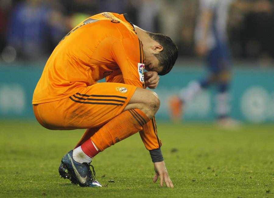 Ronaldo - på nippet til å forlate Real Madrid